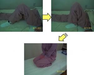 N.Mさん膝
