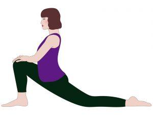 腸腰筋の伸ばし方